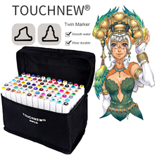 TOUCHNEW 30/40/60/80 Colors Alcohol Based Markers For Manga sketch Markers Set Material For Drawing Art Supplies
