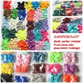 150 SETS/LOT Mix color  clothing accessories  sold KAM T5 baby snap buttons plastic snaps