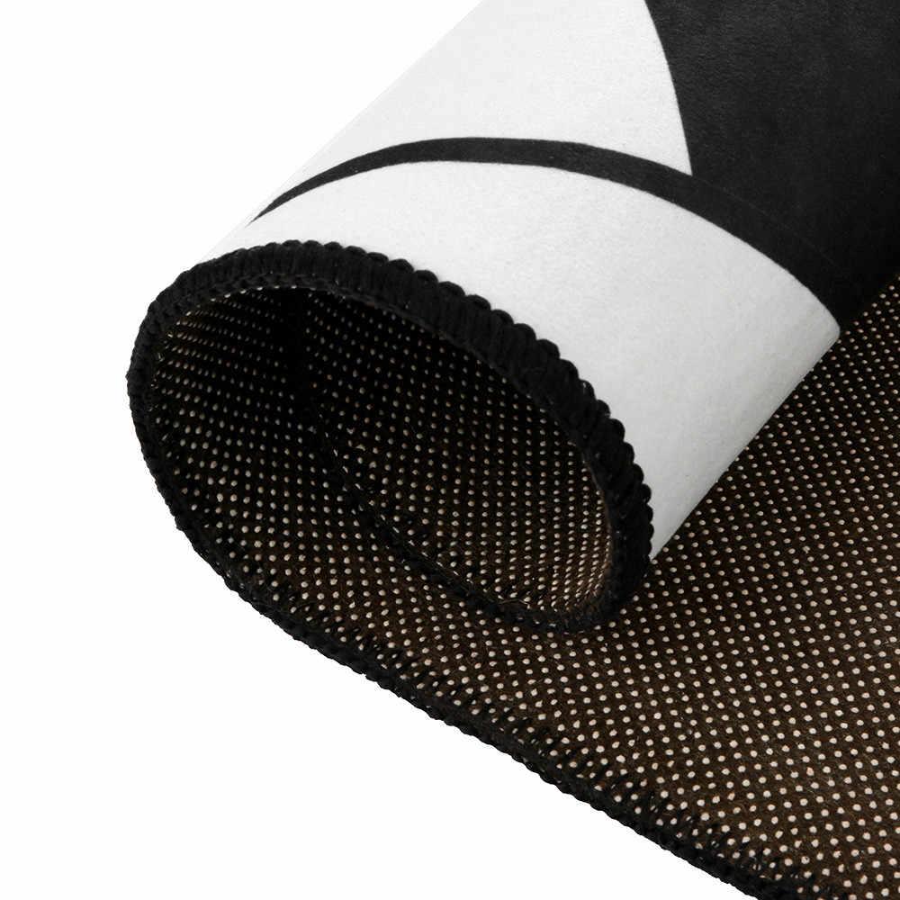 2019 幾何学模様カーペットふわふわアンチスキッドエリア 3D 敷物ダイニングルームのカーペットのホーム寝室のフロアマット tappetto