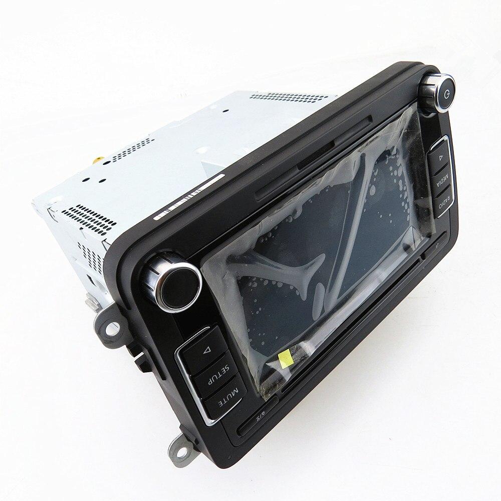 SCJYRXS Plus 6.5 MIB autoradio d'origine RCD510 jouer lecteur MP3 stéréo caméra de recul pour Golf MK5 MK6 CC Passat B6 56D035190A