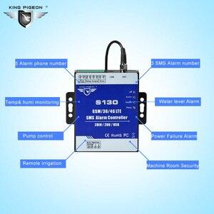 Image 2 - GSM 3G 4G Hücresel RTU SMS Uzaktan Kumanda Alarm Sistemi için yakıt Deposu Pompası Otomasyon İzleme Sistemi S130