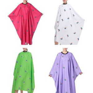 Adult 4 Color Hair Wrap Hairdressing Cape Hair Cutting Capes For Home Hair Stylist Professional Salon Cape Hair Styling Cap