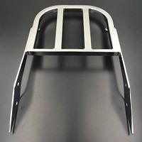 Chrome Sissy Bar Luggage Rack For 2000 2009 Yamaha V Star 1100 Motorcycle NEW