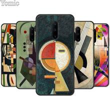 Wassily Kandinsky Phone Case for Oneplus 7 7 Pro 6 6T 5T Silicone Case for Oneplus 7 7Pro Black Soft TPU Cover Shell