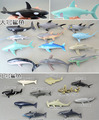 12pcs  big shark+11 pcs  small shark soft plastic+ PVC genuine bulk marine animal model  all kinds of  shark toy gift