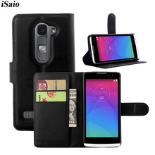Case For LG Leon 4G LTE C40 C50 H324 H340N H320 Flip Leather Wallet Cover Business Phone Bags TPU Shell Case Stand Card Holders недорго, оригинальная цена