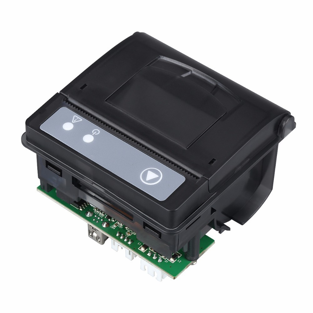 Thermal module 58mm embedded printer usb and TTL port support multiple auto machine printing QR23 zebra zt410 300dpi thermal barcode label printer industrial printing machine zm400 updated model usb serial ethernet port
