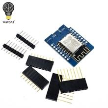 D1 Mini ESP8266 ESP-12 ESP-12F CH340G CH340 V2 USB WeMos płyta rozwojowa WIFI D1 Mini NodeMCU Lua IOT Board 3 3V z pinami tanie tanio WAVGAT CN (pochodzenie) Nowy WIFI Development Board ESP8266 D1 mini WIFI module 3 3V 5V