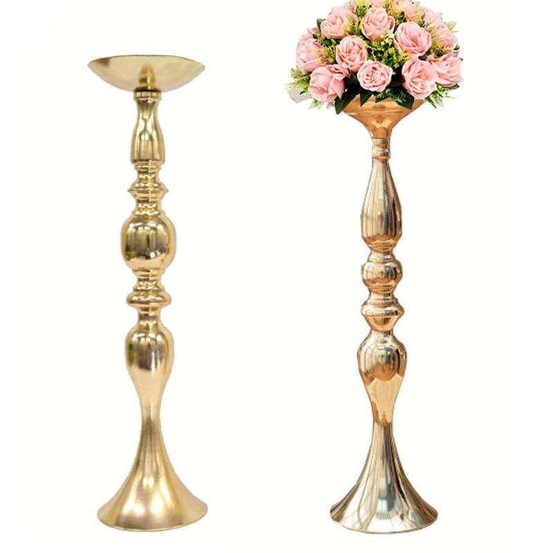 Aliexpresscom  Buy Gold Metal Candle Holders 50cm20
