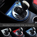 VW beetle car auto Manual Automatic Gear Shifter Panel Decoration Trim Cover Frame for new beetle 2013 to 2016