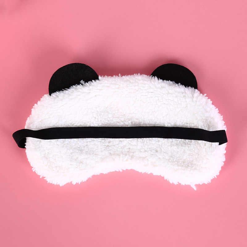 1 шт Милый Панда Маска на глаза лицо Путешествия сна повязка для глаз здравоохранения Оптовая продажа Новый
