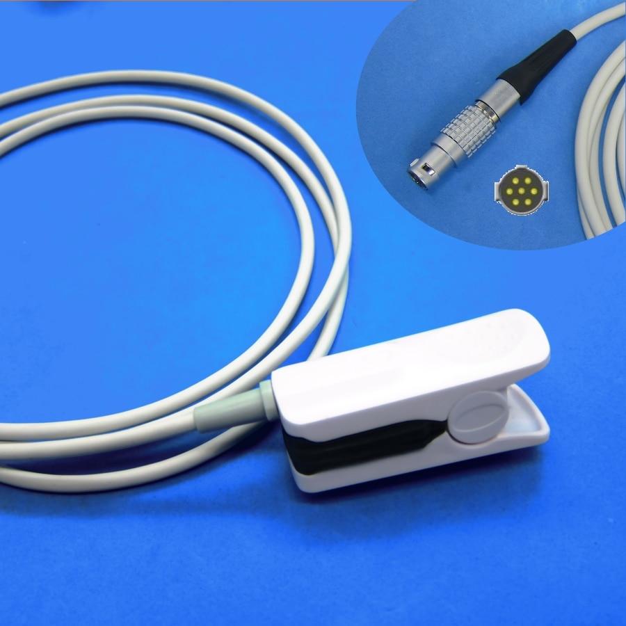 Long cable MR finger clip spo2 oxygen sensor for INVIVO masimo module patient monitorLong cable MR finger clip spo2 oxygen sensor for INVIVO masimo module patient monitor