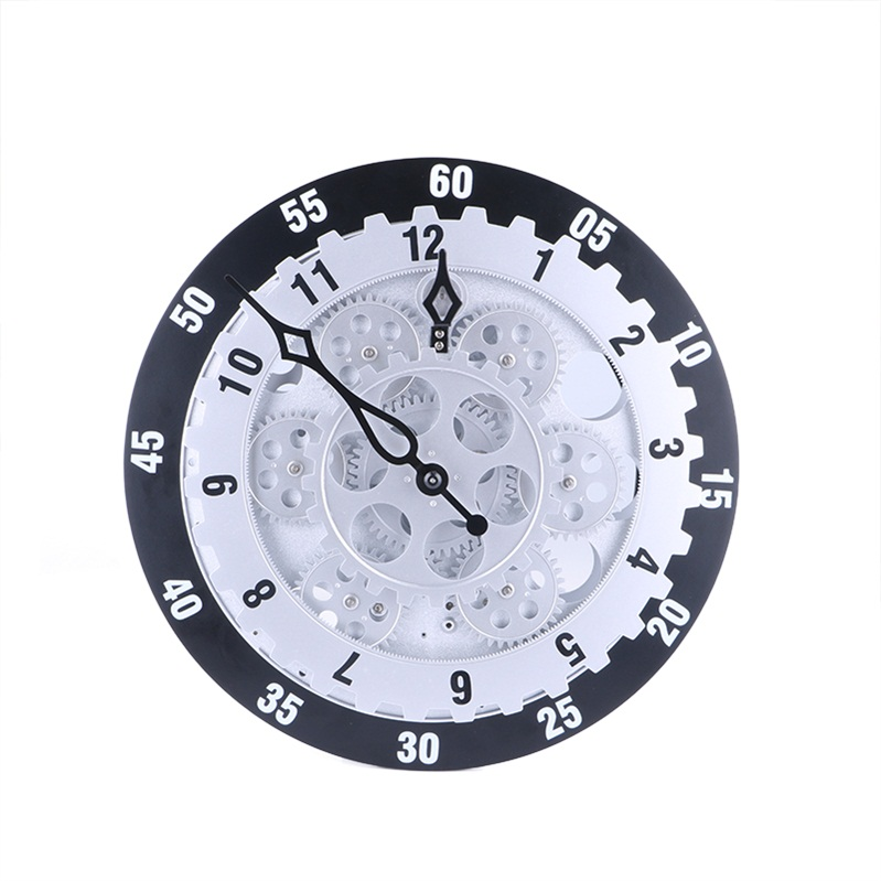 New 12 Inch Large Gear Wall Clock Fashion Creative Living Room Decoration Wall Clocks Personality Electronic Wall ClockNew 12 Inch Large Gear Wall Clock Fashion Creative Living Room Decoration Wall Clocks Personality Electronic Wall Clock