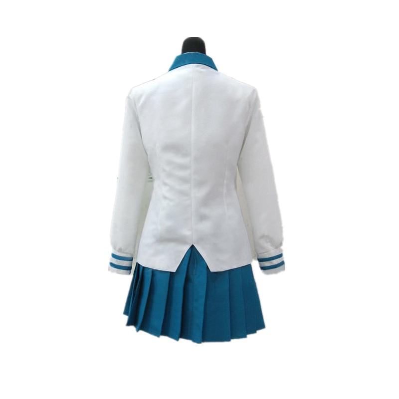 Anime Full Metal Panic Chidori Kaname Uniform Cosplay Costume Custom Made