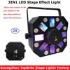 2XLot Professional Dj Laser Lights 66W High Power Led Stage Effect Lights 8X3W RGBWA 8X1W White