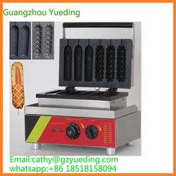 New style corn dog waffle maker hot dog waffle maker muffin machine with 6