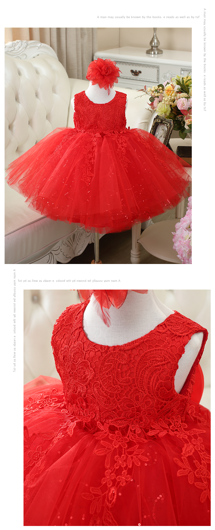 HTB1EEJAFuuSBuNjSsziq6zq8pXa2 2019 Kids Tutu Birthday Princess Party Dress for Girls Infant Lace Children Bridesmaid Elegant Dress for Girl baby Girls Clothes