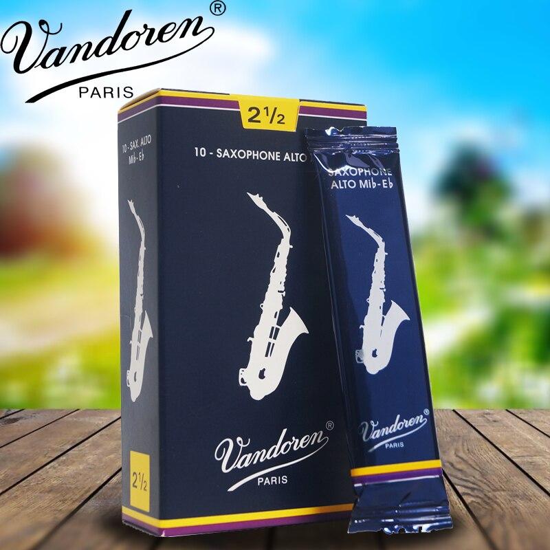 França Vandoren caixa Azul Clássico Eb saxofone alto reeds