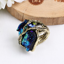 Retro delicate rings for gift jewelry wedding party 2019 new design popular  trendy style GEOMETRIC shape beauty