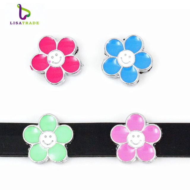 aliexpress com buy 8mm flower fruit slide charms can choose