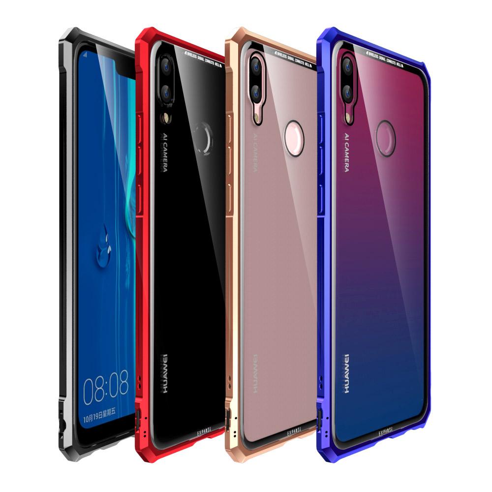pretty nice f88db 58dcb US $11.98 15% OFF|For Huawei Y9 2019 Case 6.5