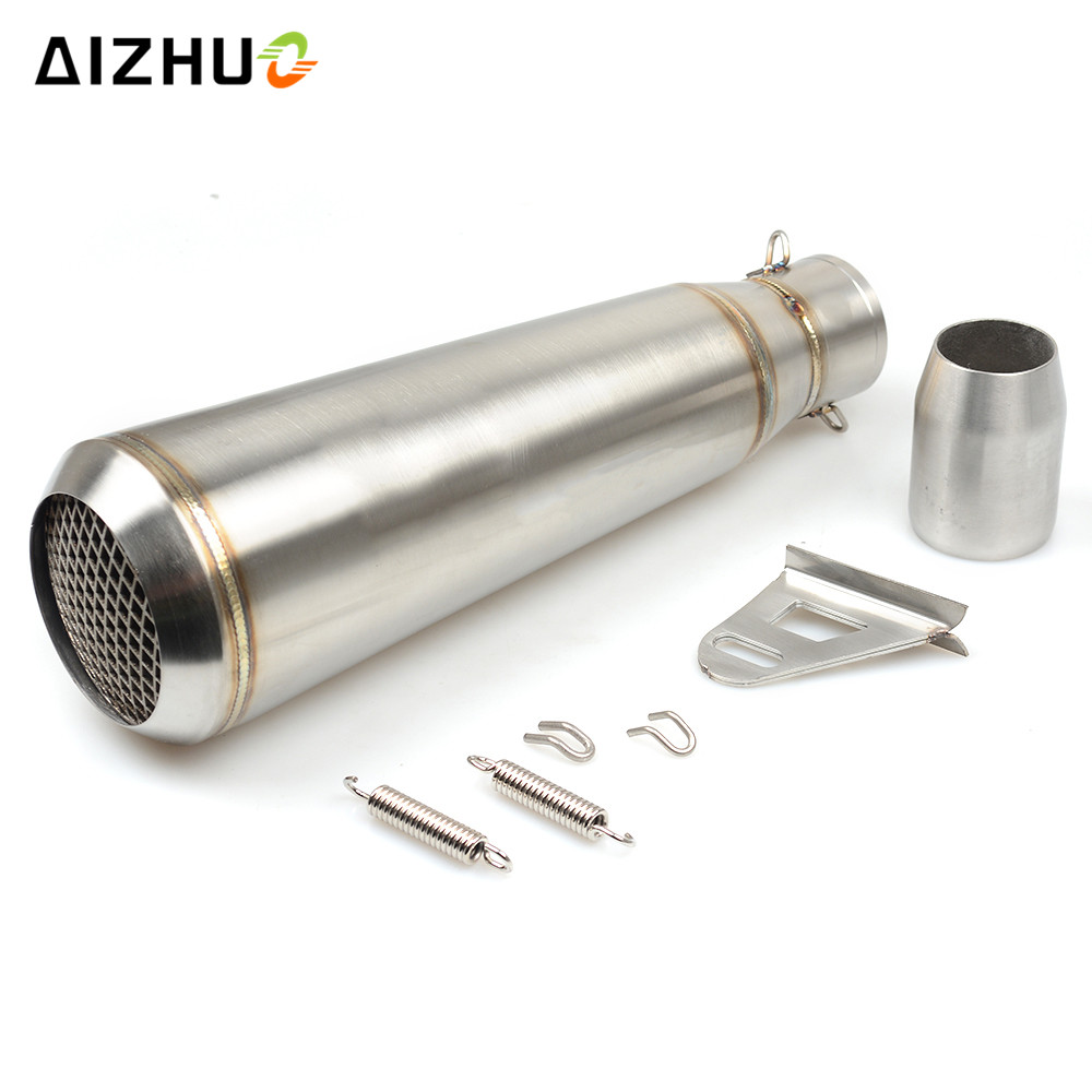 36-51MM Motorcycle Universal Exhaust Pipe Muffler FOR suzuki sv650 gsf katana hayabusa HONDA shadow 600 750 1100 CBR 125R 36 51mm motorcycle universal exhaust pipe muffler for suzuki sv650 gsf katana hayabusa honda shadow 600 750 1100 cbr 125r