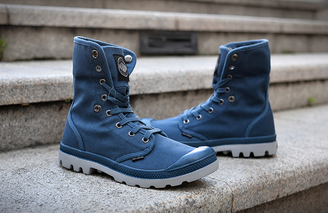 7891c18856ee PALLADIUM Women Baggy Soldiers Boots Canvas Casual Shoes FashionSneakers Shoes  Women Boots Size 36-40