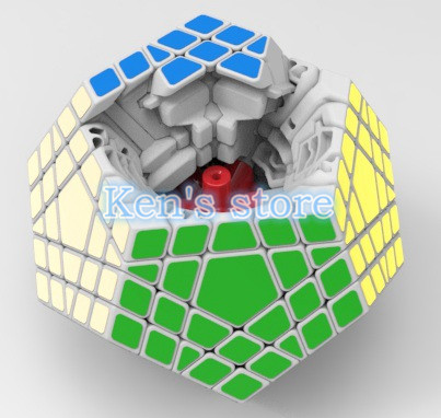 2016 New Shengshou SHS Megaminx Magic Cube Professional 5x5x5 PVC & - ფაზლები - ფოტო 5