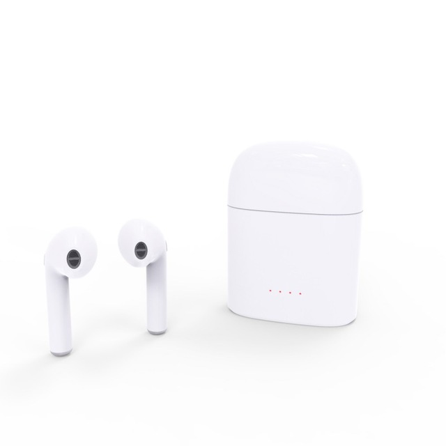 i7s TWS Earbuds Ture Wireless Bluetooth Earphones Mini Twins Phone Earpieces Stereo Music Headset For Apple iPhone Samsung HUWEI dacom bluetooth earphone mini wireless stereo headset tws ture wireless earbuds charging box for iphone xiaomi android phone