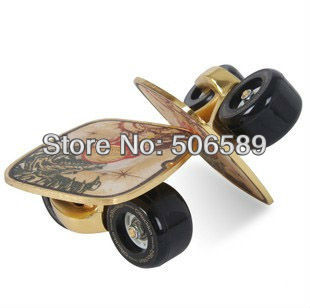 Free Shipping Freeline Skates Langbo Happywing NSK Bearing Gold Color