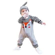 Genuino MUQGEW bebé ClothesInfant bebé niñas niños de manga larga zorro  mono mameluco de sombrero trajes be626639710