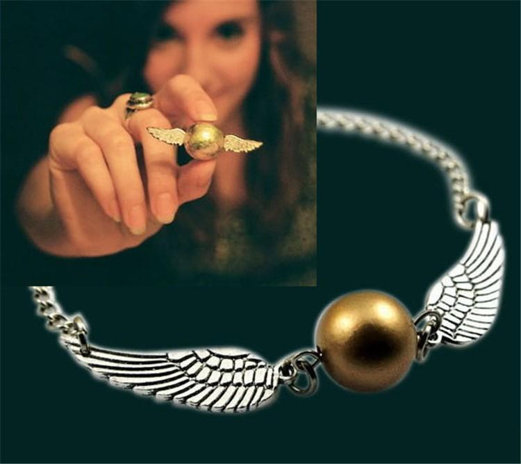 Harry Potter Golden Snitch Bracelet