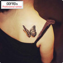 (Min Order $0.5) Waterproof Temporary Tattoo Tatoo Henna Fake Flash Tattoo Stickers Taty Tatto 3D Butterfly Club SYA061