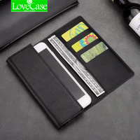 LoveCase Real Genuine Leather Phone Bag Case For IPhone X 8 7 Plus 6 6S Plus