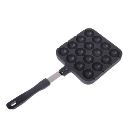 16 blocks Health Frying Pan Fry Egg Cooking Tools Cookware Kitchen Supplies Home Appliance Black