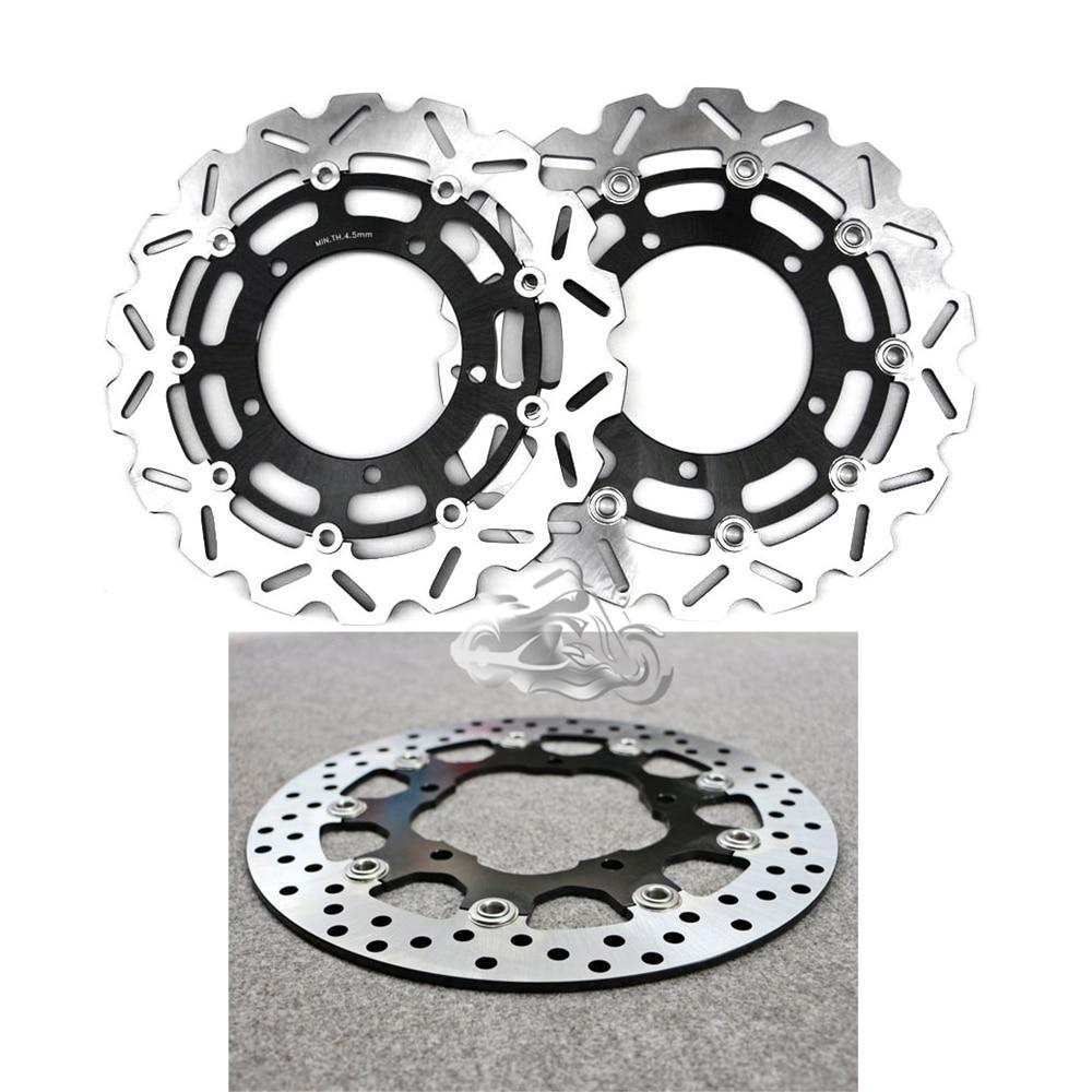Floating Front Brake Disc Rotor For Motorcycle Suzuki GSR400 06-07 GSR600 & V-Storm DL650 & GSX650F 2008-2009 цена