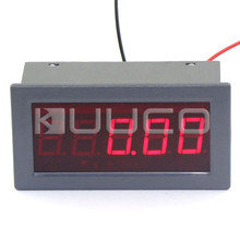 Digital Tester DC Milli Volt Measure Meter 0.56″ DC 0-200mV Positive/Negative Display 5 Digits Red Led Display Voltmeter