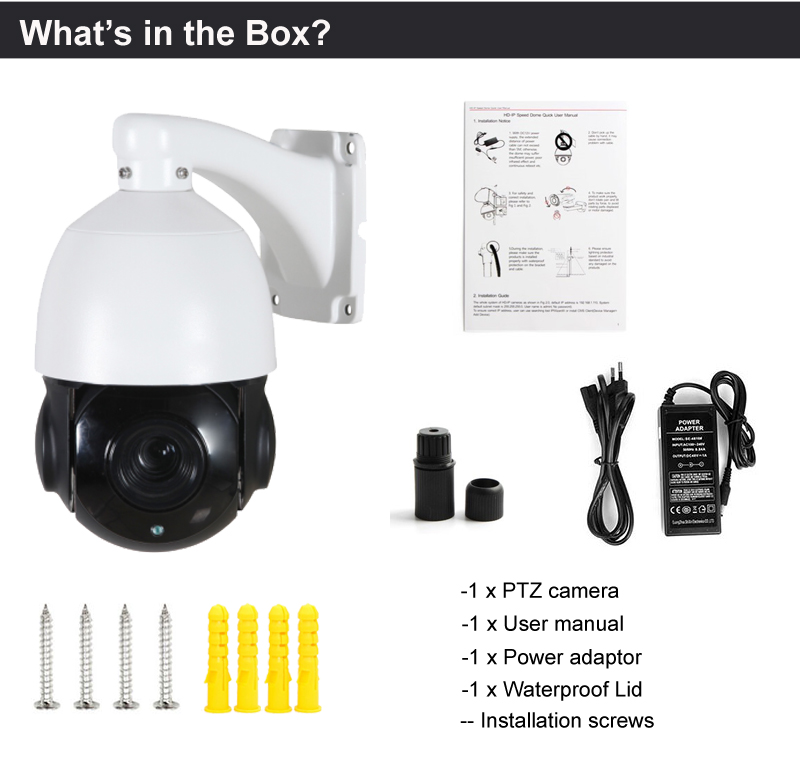 Mini 2MP AHD CVI TVI all in 1 Coaxial control PTZ Camera outdoor indoor PTZ 18X optical Zoom 1080P AHD ptz camera support RS485