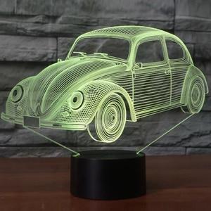 7 Colors Visual Cool Car Shape