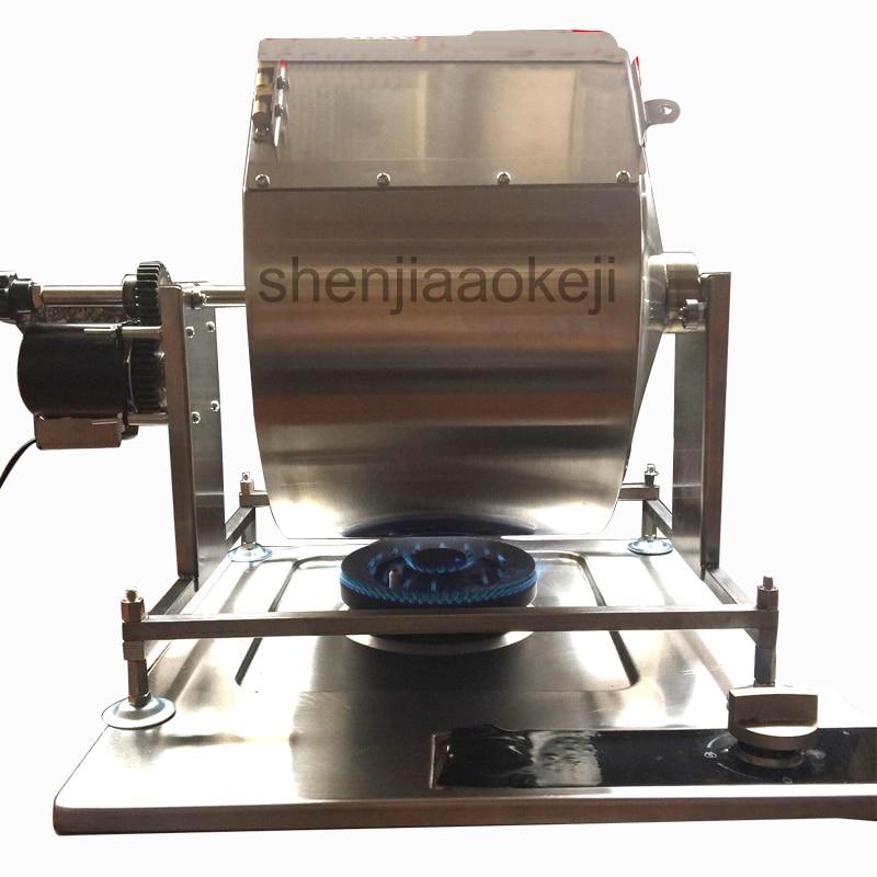 Huishoudelijke speculatie machine Automatische koffiebrander machine gebakken bonen, roergebakken chili saus, gebakken gierst frituren machine