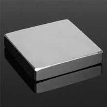 1 шт. Блок 50 х 50 х 10 мм N35 Super Strong Rare Earth Неодимовые магниты Магнит высокое качество