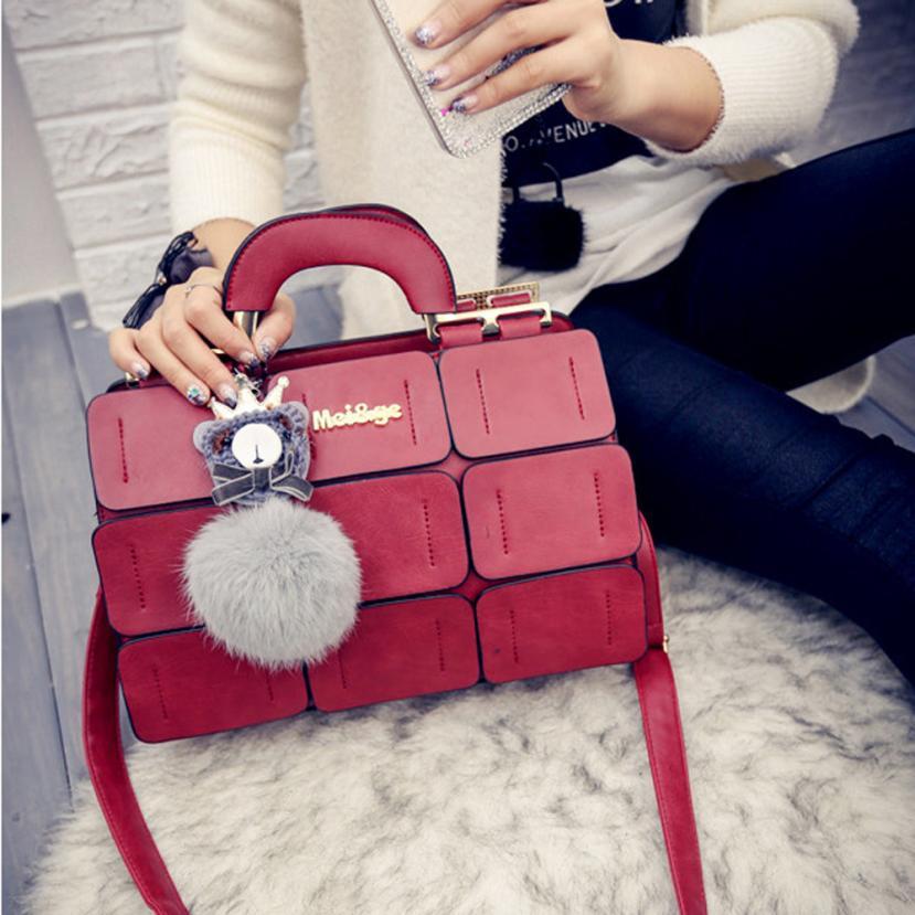 Molave Shoulder Bag new high quality leather Fashion Palace of Boston Wrapped Balls Handbag Bag shoulder bag women Mar15