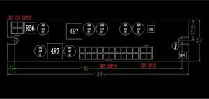 Image 3 - Puissance élevée 250W cc 12V entrée ATX pic PSU Pico ATX commutateur extraction PSU 24pin MINI ITX cc à voiture ATX PC alimentation pour ordinateur