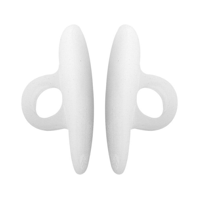 2PCS Silicone Gel Orthopedic Metatarsal Rings Toe Separator Correction Straightener Feet Care Shoes Cushion Pads