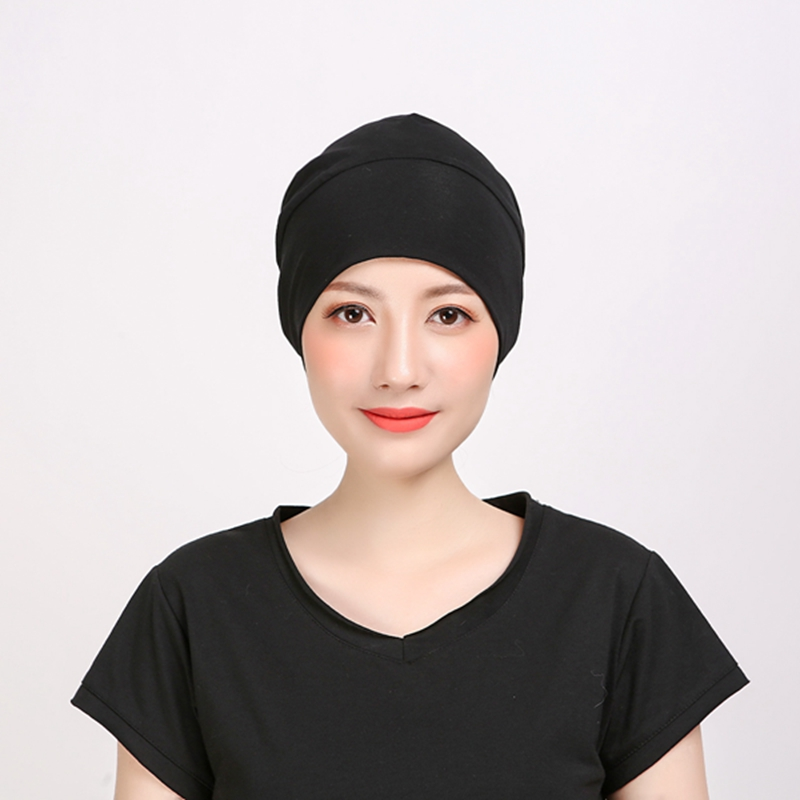 1pc Women Breathable Chemotherapy Hats For Men   Skullies   &   Beanies   Unisex Cancer Hair Loss Sleeping Caps DAJ9370
