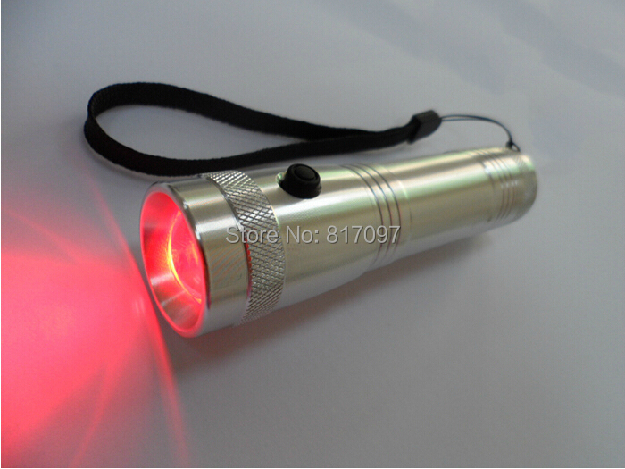 10 colors changing led torch RGB led flashlight New flash light led lighting ...