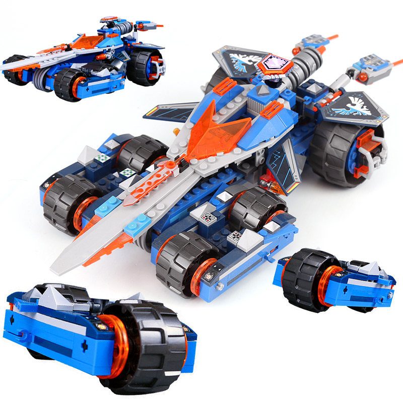 Model building kits compatible with legoinglys Nexus Knights Clay's Rumble Blade Jestro Clay3D blocks model building toys 14012 model building kits compatible with lego knights clay s rumble blade jestro model building toys hobbies 70315