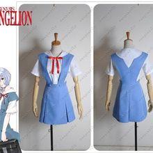 Evangelion EVA школьный Косплей Костюм на заказ женское платье для школы голубое платье для взрослых милая девушка женщина Cos W0014