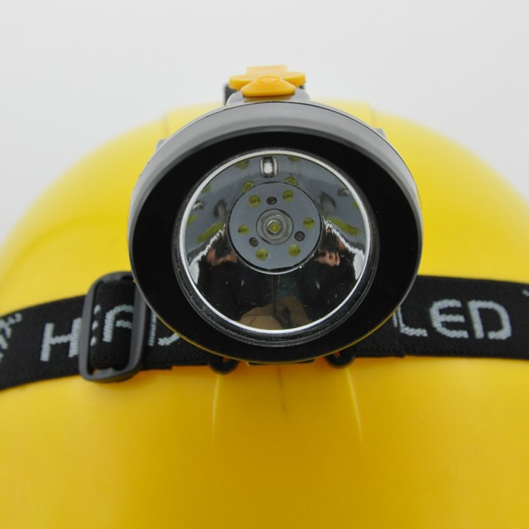 60pcs/lot Wholesale Low Price Led Mining Headlamp Miners Head Lamp #KL2.5LM(B) Free Shipping