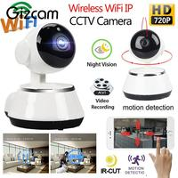 Gizcam HD 720P WiFi Wireless Network Home Security Camera Support Night Vision Camera Smart Home Safety